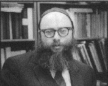 Picture of Rabbi Aryeh Kaplan.