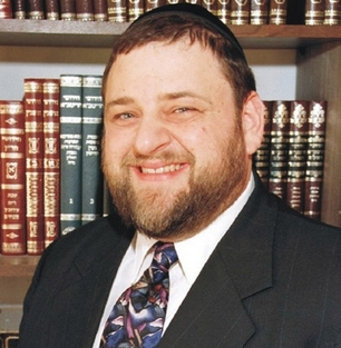 Picture of Rabbi Dovid Orlofsky.