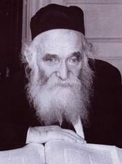 Picture of Rabbi Aharon Kotler.