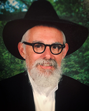 Picture of Rabbi Chaim Burston.