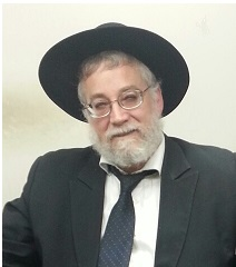 Picture of Rabbi Avrohom Kosman.