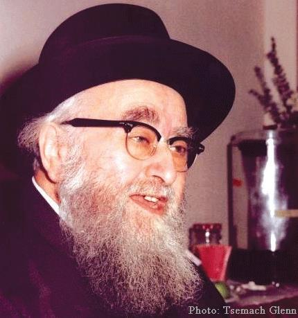 Picture of Rabbi Shimon Schwab.