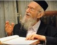 Picture of Rabbi Michel Yehuda Lefkowitz.