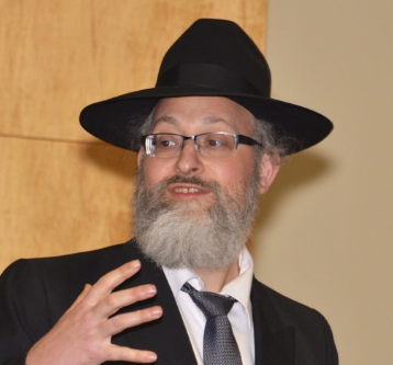 Picture of Rabbi Aharon Sorscher.