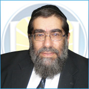 Picture of Rabbi Gershon Bertman.