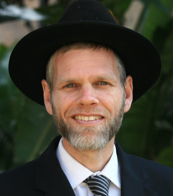 Picture of Rabbi Yoram Bogacz.