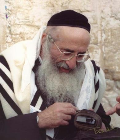 Picture of Rabbi Moshe Wolfson.