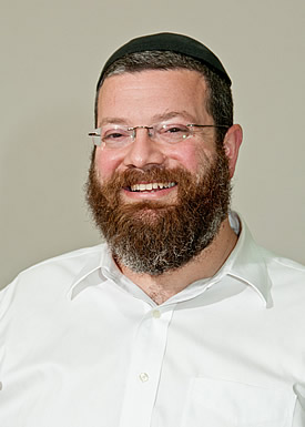 Picture of Rabbi Eli Reich.