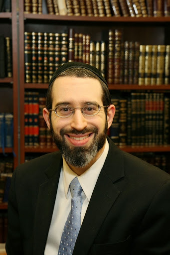 Picture of Rabbi Dovid Brodsky.