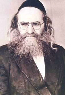 Picture of Rabbi Baruch Shalom HaLevi Ashlag.