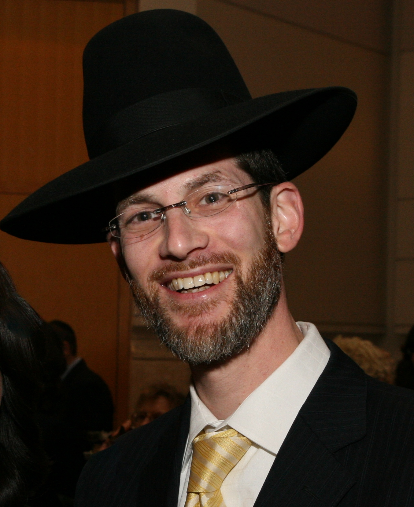 Picture of Rabbi Chaim Biberfeld.