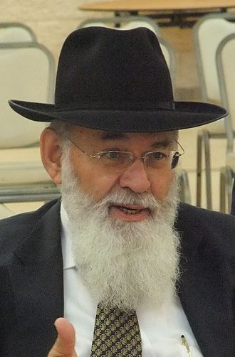 Picture of Rabbi Avraham Steinberg.