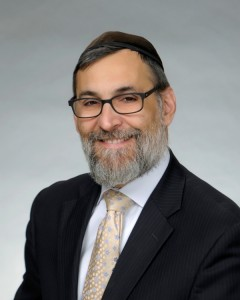 Picture of Rabbi Binyomin Friedman.