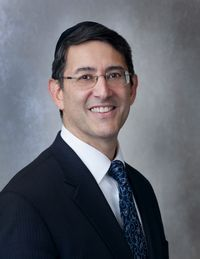 Picture of Rabbi Dave Silverman.