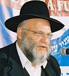 Picture of Rabbi Chaim Malinowitz.