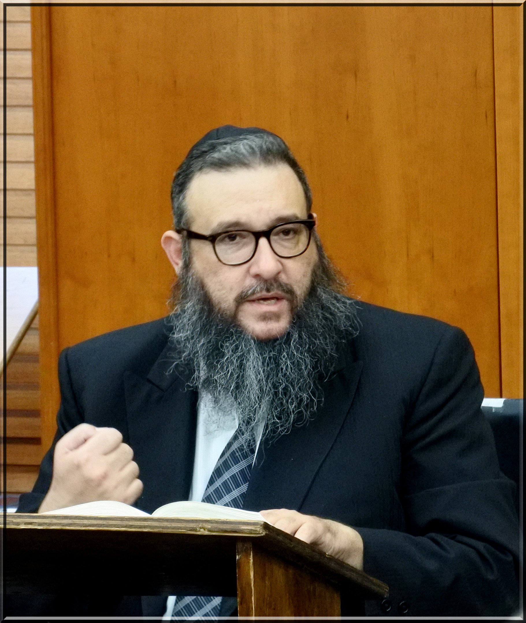 Picture of Rabbi Gershon Ribner.