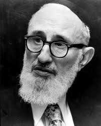 Picture of Rabbi Yosef Dov Soloveitchik.