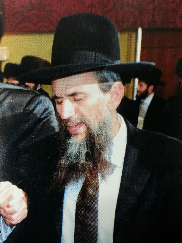 Picture of Rabbi Yackov Zev Smith.