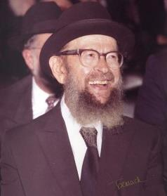 Picture of Rabbi Avigdor Miller.